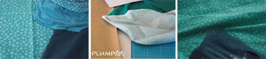 12 Colours of Handmade Fashion - blau oder grün?